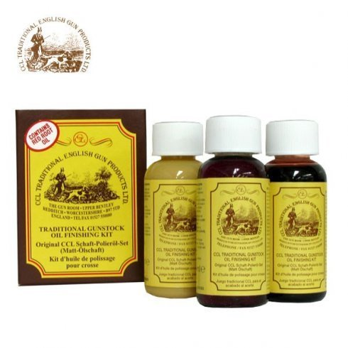 CCL Traditional Gunstock Oil Finishing Kit