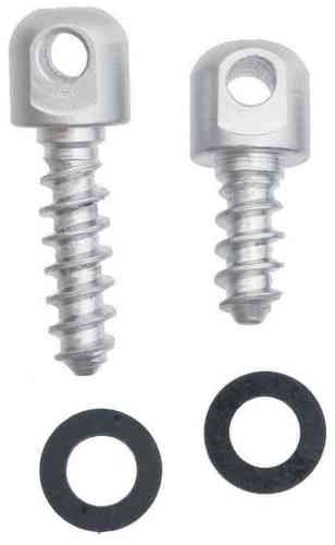The Outdoor Connection Detachable Swivel Studs - Nickel