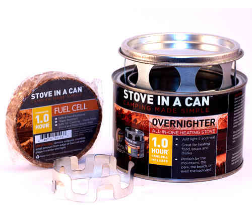 Stove In A Can - Overnighter