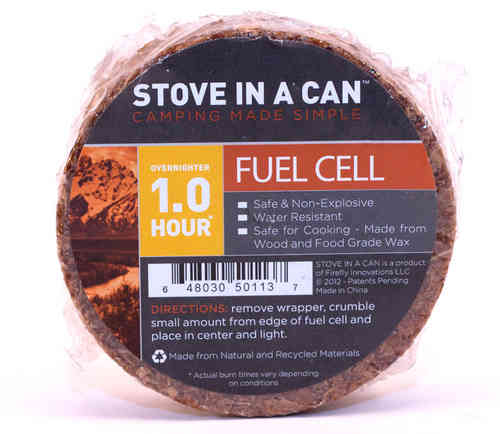 Stove In A Can - Overnighter Fuel Cell