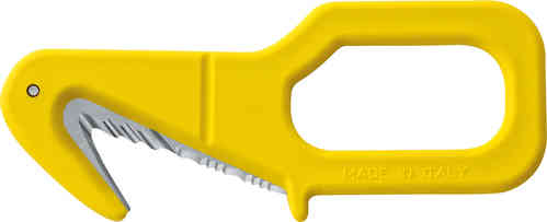 "Mac Coltellerie 2.5"" Mini Serrated Safety / Rescue Cutter"