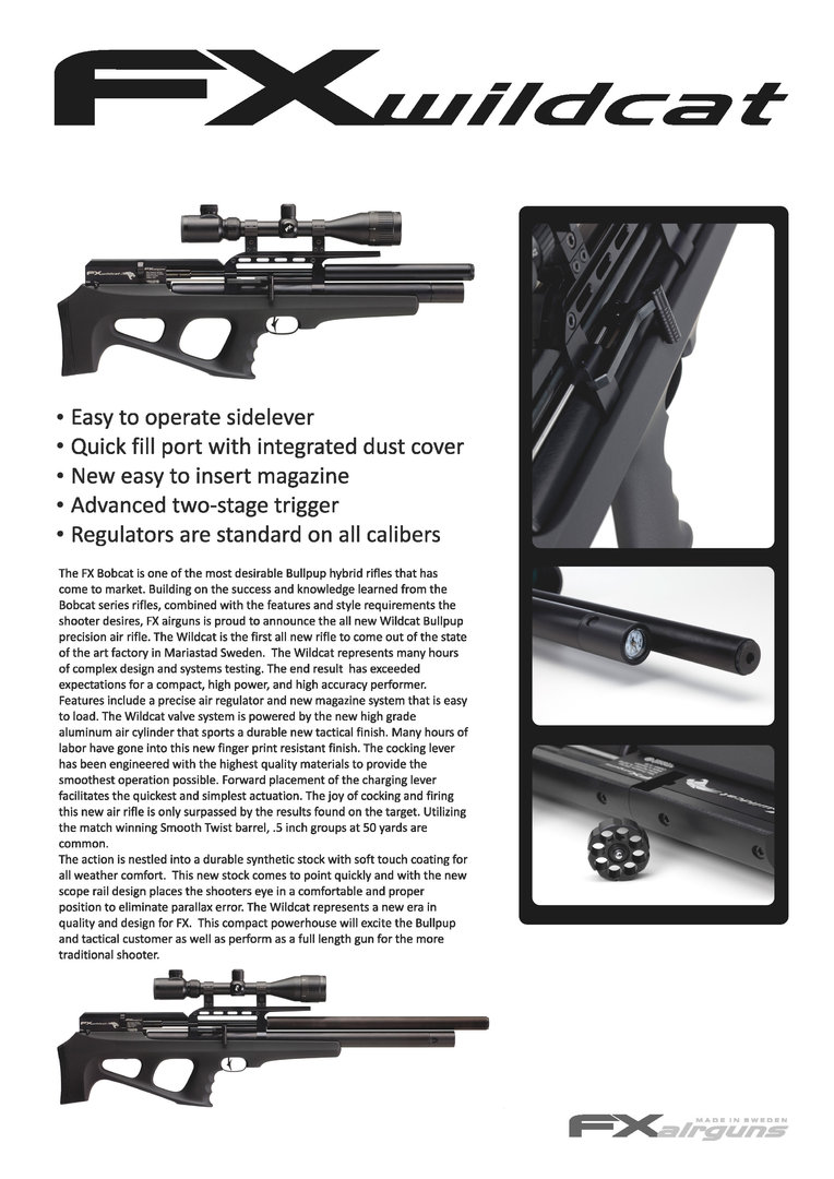 FX Wildcat Mk 2 - Pull The Trigger