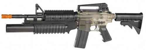War Inc M4A1 RIS with Mock Grenade Launcher