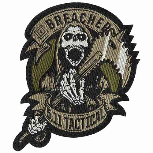 5.11 Tactical Breacher Patch - Brown