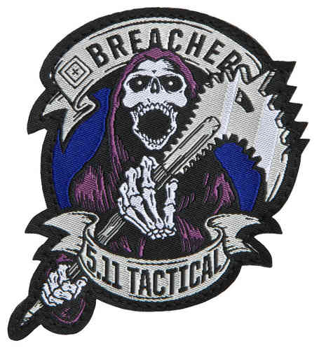 5.11 Tactical Breacher Patch - Blue