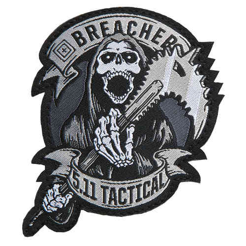 5.11 Tactical Breacher Patch - Grey