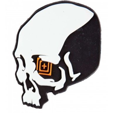 5.11 Tactical Skull Shot Patch - Grey