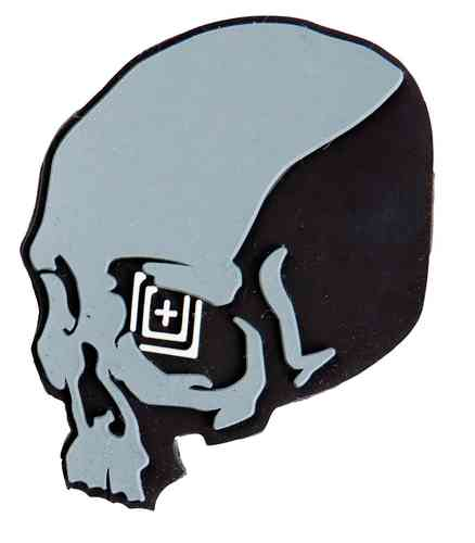 5.11 Tactical Skull Shot Patch - Black