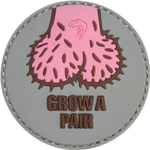 Viper Grow A Pair Patch