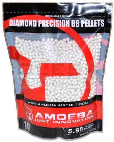 Ares Amoeba Diamond Precision Biodegradable BBs .25g (4000)