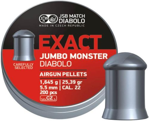 JSB Exact Jumbo Monster Heavy .22