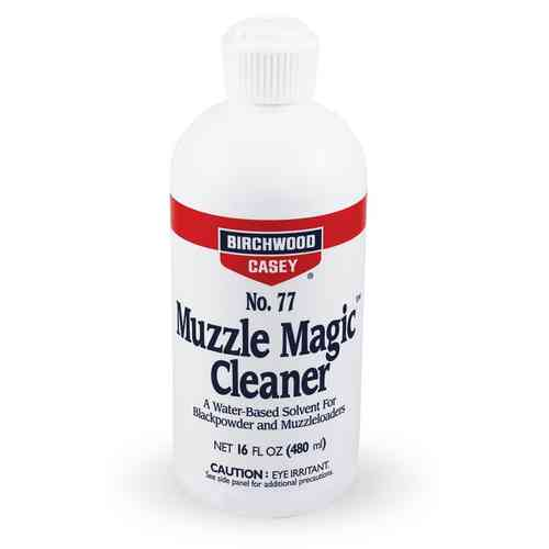 Birchwood Casey No. 77 Muzzle Magic Cleaner Black Powder Solvent - 16oz
