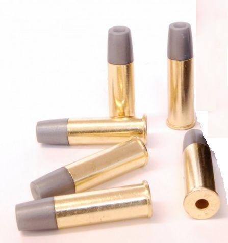 Webley Mk VI Service Revolver Replacement 6mm Shells - Pack of 6