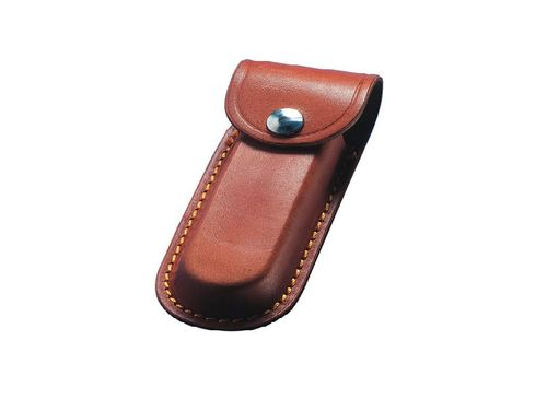 "Whitby 3"" Leather Knife Pouch - Brown - WP14"