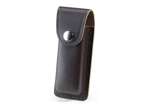 "Whitby 4.5"" Leather Knife Pouch - Dark Brown - WP25"