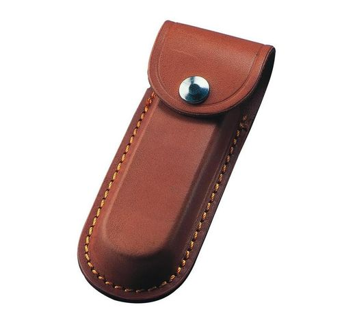 "Whitby 5"" Leather Knife Pouch - Brown - WP10"