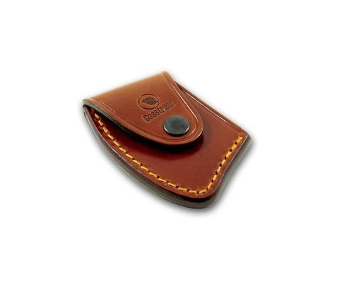 Casstrom No. 25 Cognac Brown Leather Axe sheath 33025