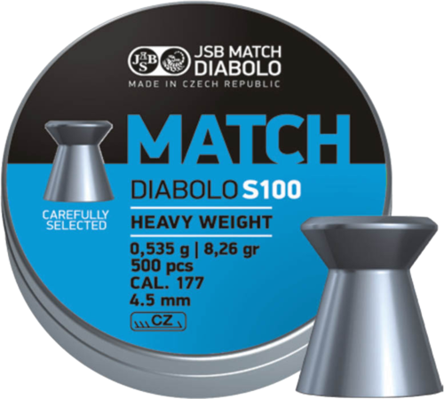 JSB Blue Match Diabolo S100 Heavy Weight .177