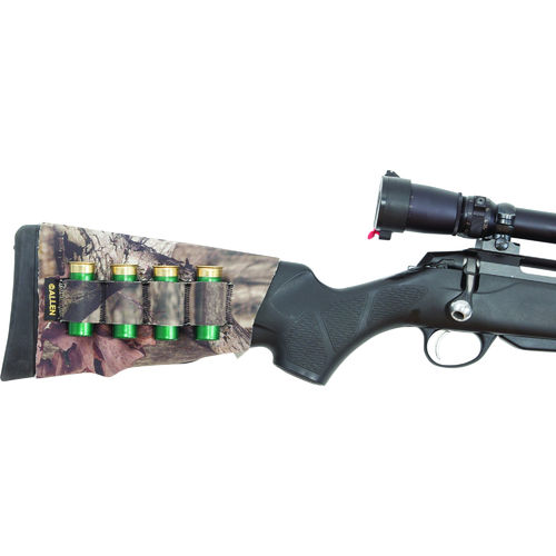 Allen Neoprene Stretch Buttstock Shotgun Shell Holder - Mossy Oak Infinity Camo - 20143