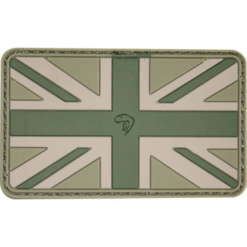 Viper Union Jack Patch - OD Green