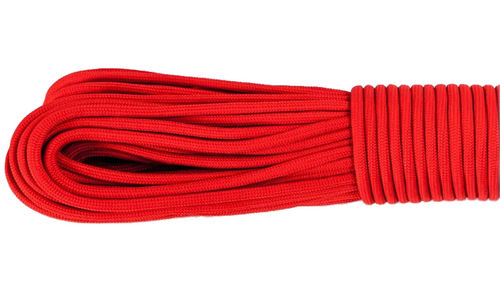 Gorilla Cord Type III Paracord - Red #021 - 10m