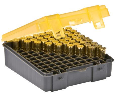 Plano 100-Round Pistol Ammo Box - Medium (122500)
