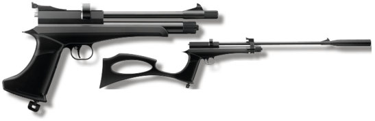 Victory CP2 Multishot Pistol / Rifle - Black - Pull The Trigger