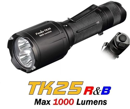 Fenix TK25 R&B White / Red / Blue Torch