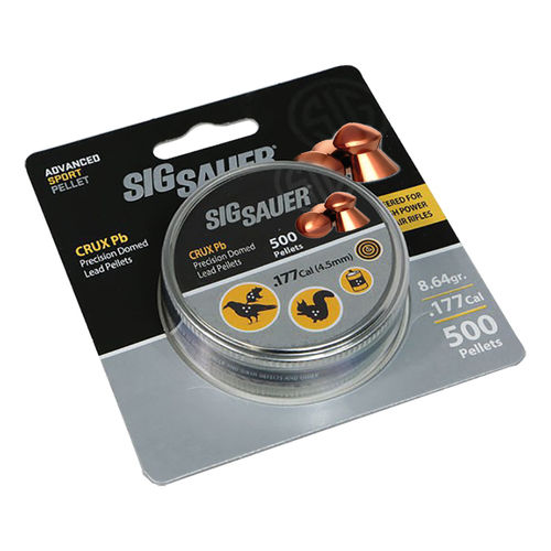 Sig Sauer WRAITH Precision Domed Head Pellets .177
