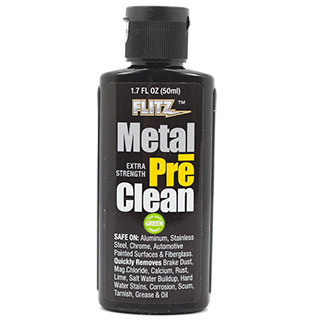 Flitz Metal PreClean; Industrial Strength - All Metals including Stainless Steel - 50ml