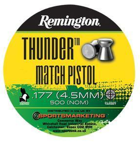 Remington Thunder Match Pistol .177