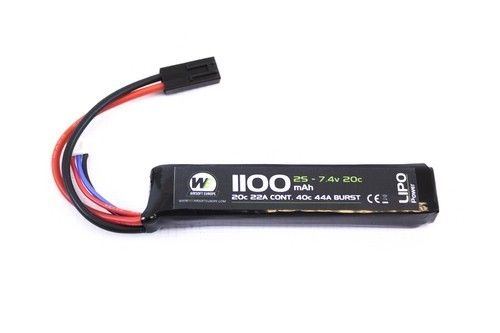WE NP Power 1100mah 7.4v 20c Stick Type Lipo
