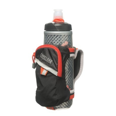 Camelbak Quick Grip Chill 620ml Bottle - Black / Cherry Tomato