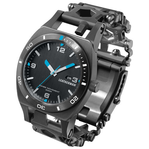 Leatherman Tempo Tread Watch - Black DLC