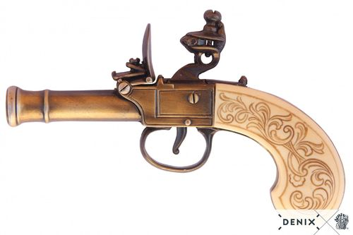 Denix Flintlock pistol, England 18th. Century 237/L