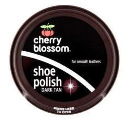 Cherry Blossom Shoe Polish - Brown