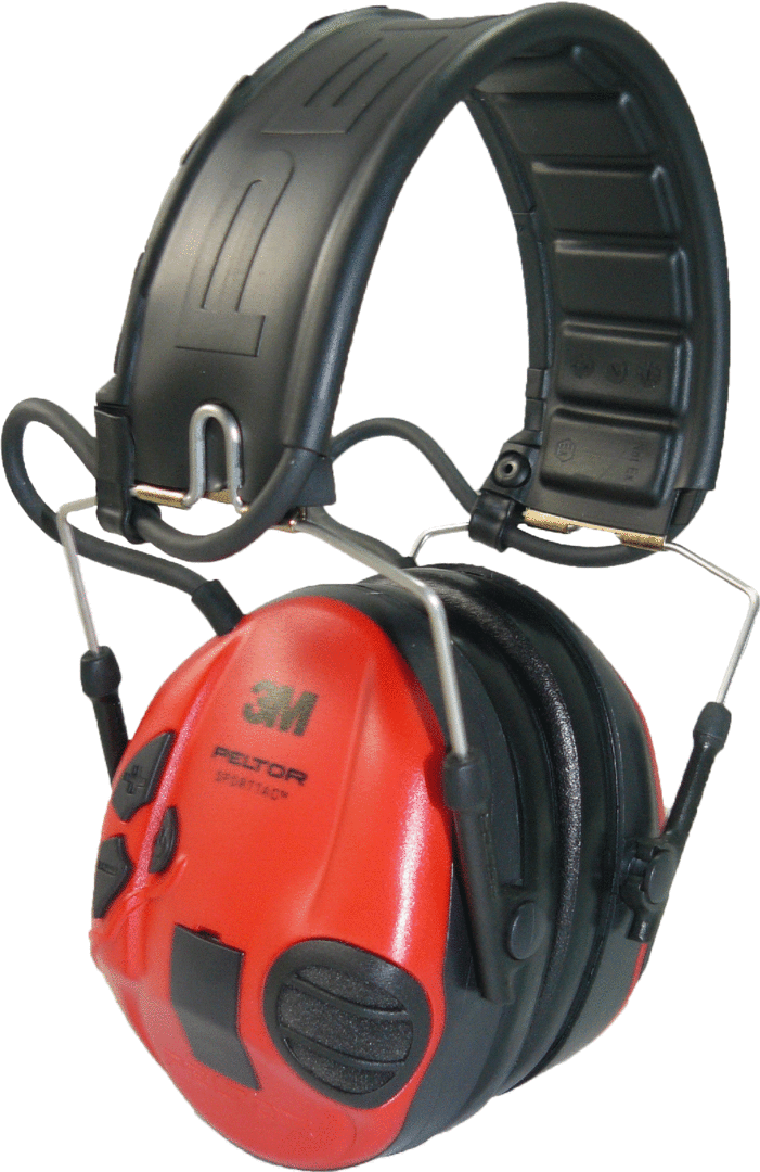 Peltor SportTac Electronic Hearing Protection Muffs - Pull The Trigger