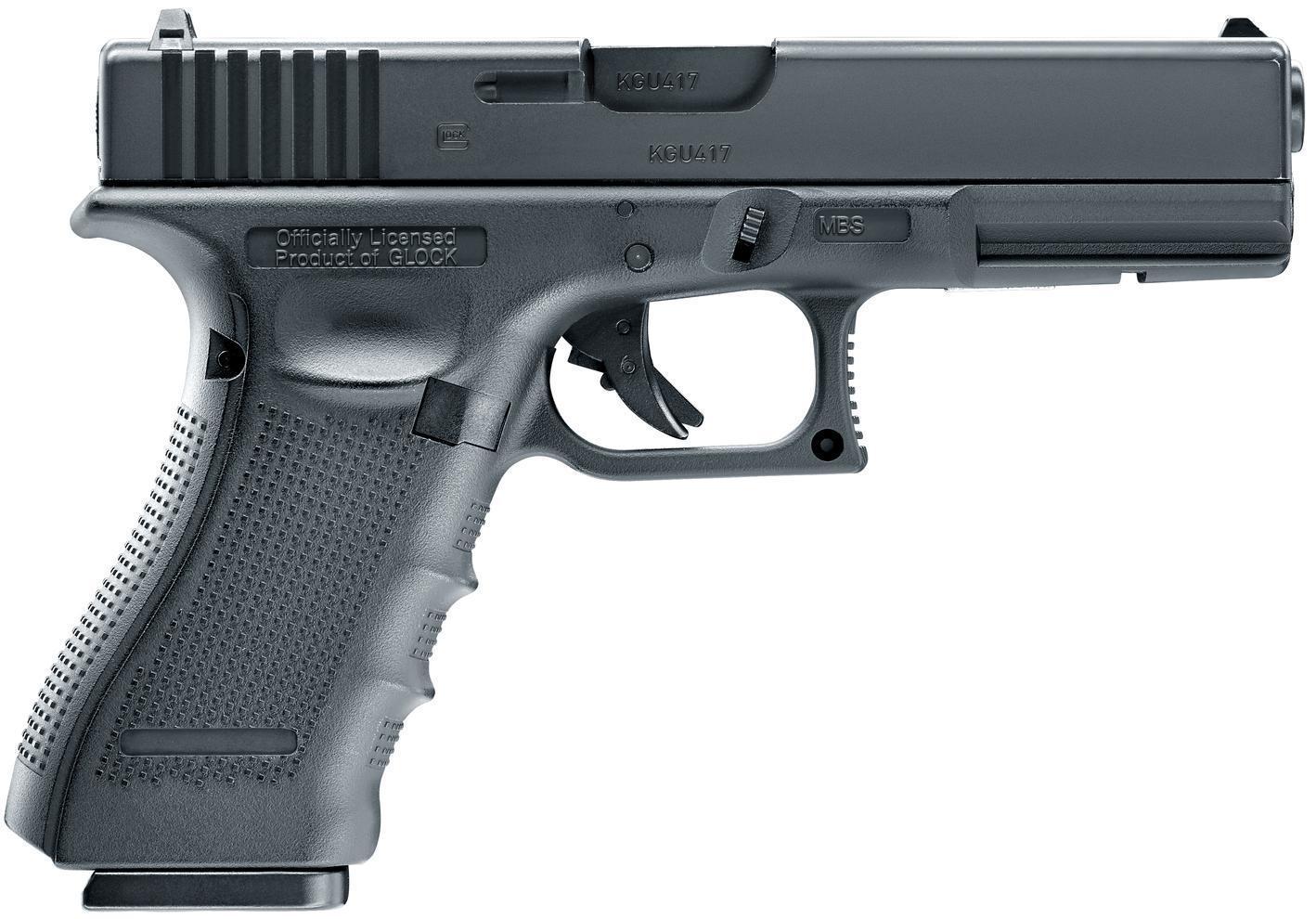 Umarex GLOCK 17 Gen4 - 4.5mm Blowback - Pull The Trigger