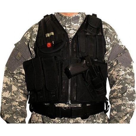 Swiss Arms Lightweight tactical Vest with Holster and Belt