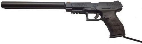 Walther PPQ Long Barrel Pistol (with Barrel Shroud) - .22lr