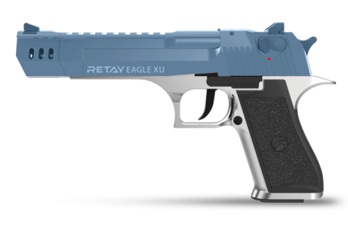 Retay Arms Eagle XU - Chrome / Blue - 9mm