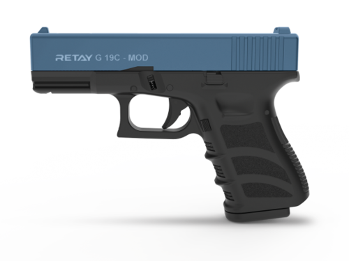 Retay Arms G19C - Black / Blue - 9mm