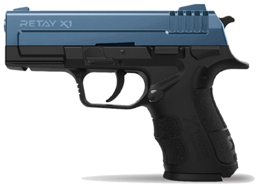 Retay Arms X1 - Black / Blue - 9mm