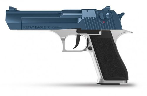 Retay Arms Eagle X - Chrome / Blue - 9mm