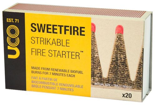 UCO Sweetfire Strikeable Fire Starter (20 pack)
