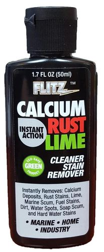 Flitz Instant Calcium, Lime Scale and Rust Remover - 50ml