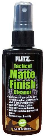 Flitz Tactical Matte Finish Cleaner - 50ml