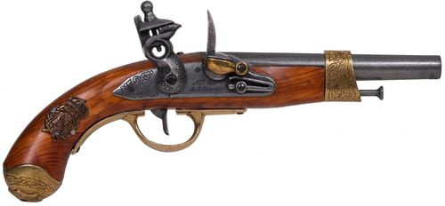 Denix France 1806 Napoleon Flintlock Pistol 1063