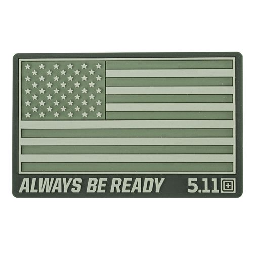 5.11 Tactical USA Flag Patch - OD Green