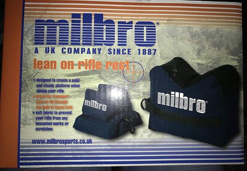 Milbro Benchrest Bags - Unfilled